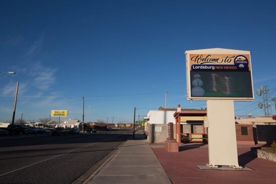 The town of Lordsburg, New Mexico, where members of the Congressional Hispanic Caucas visited the Border Patrol Station where a 7-year-old Guatemalan migrant girl died while she was in custody. Tuesday December 18, 2018.