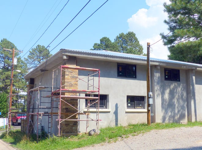 This example a rehabilitation project is on Rio Street in Ruidoso.