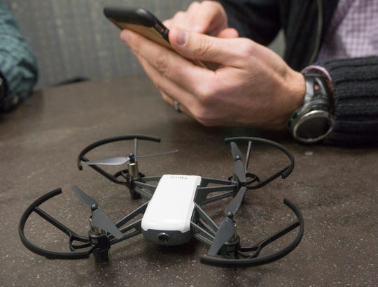 This small, $100 drone is suitable for indoor use.