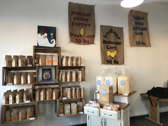 Chris Anderson and his family opened OshPop at 1207 N. Main St. to bring gourmet popcorn to Oshkosh.
