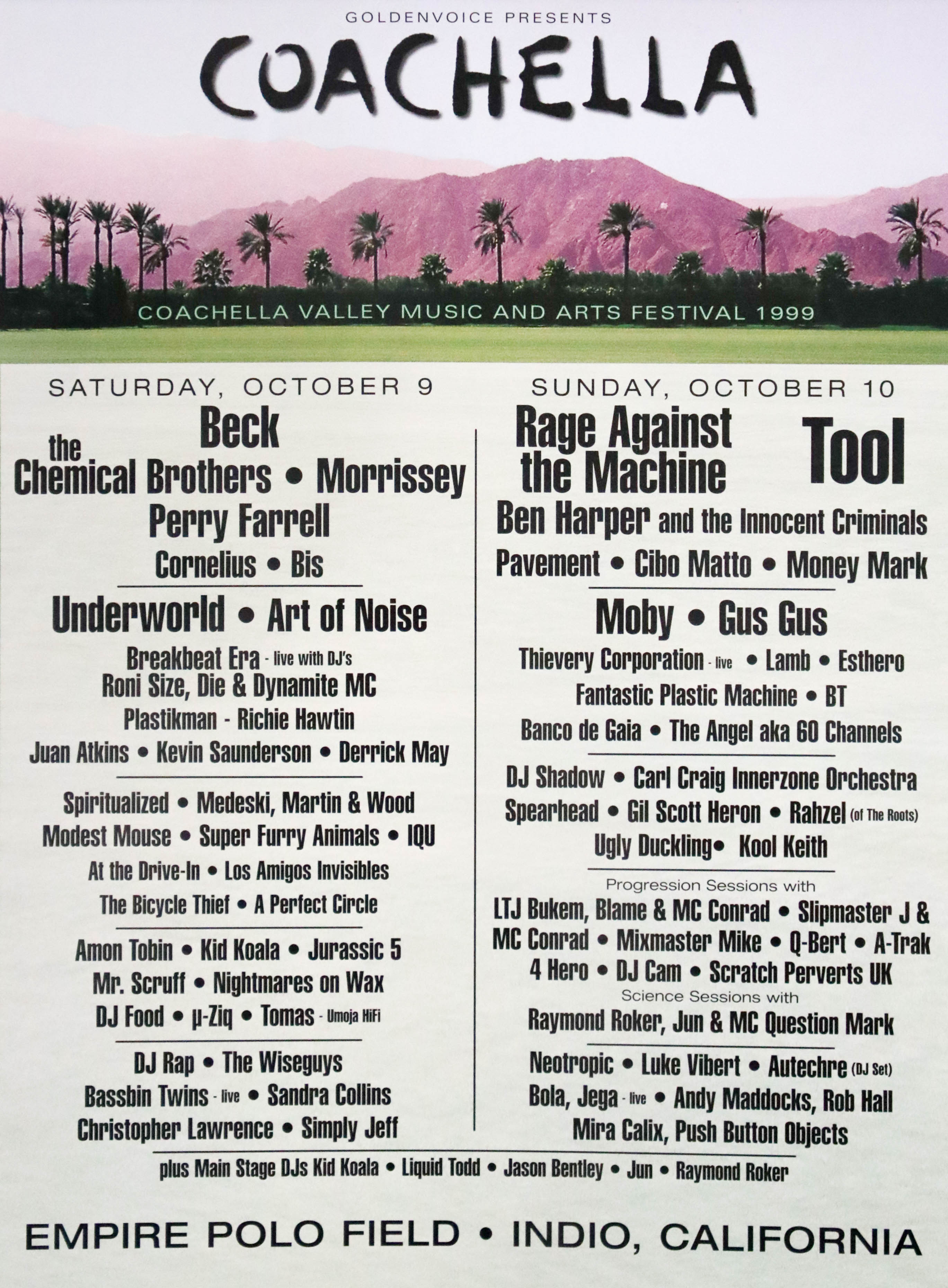 e79ffe65088a Take a look at the Coachella lineup posters since the festival s first year  in 1999