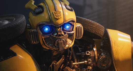 "In ""Bumblebee,"" the title character is a very special kind of car."