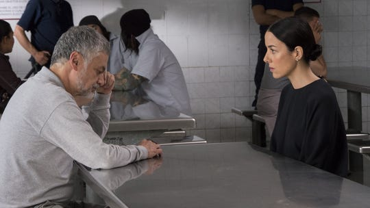 "Arturo Ríos and Cecilia Suárez star in Manolo Caro's TV series ""La Casa de Las Flores."" Suárez also stars in Caro's big-screen ""Perfectos Desconocidos."""