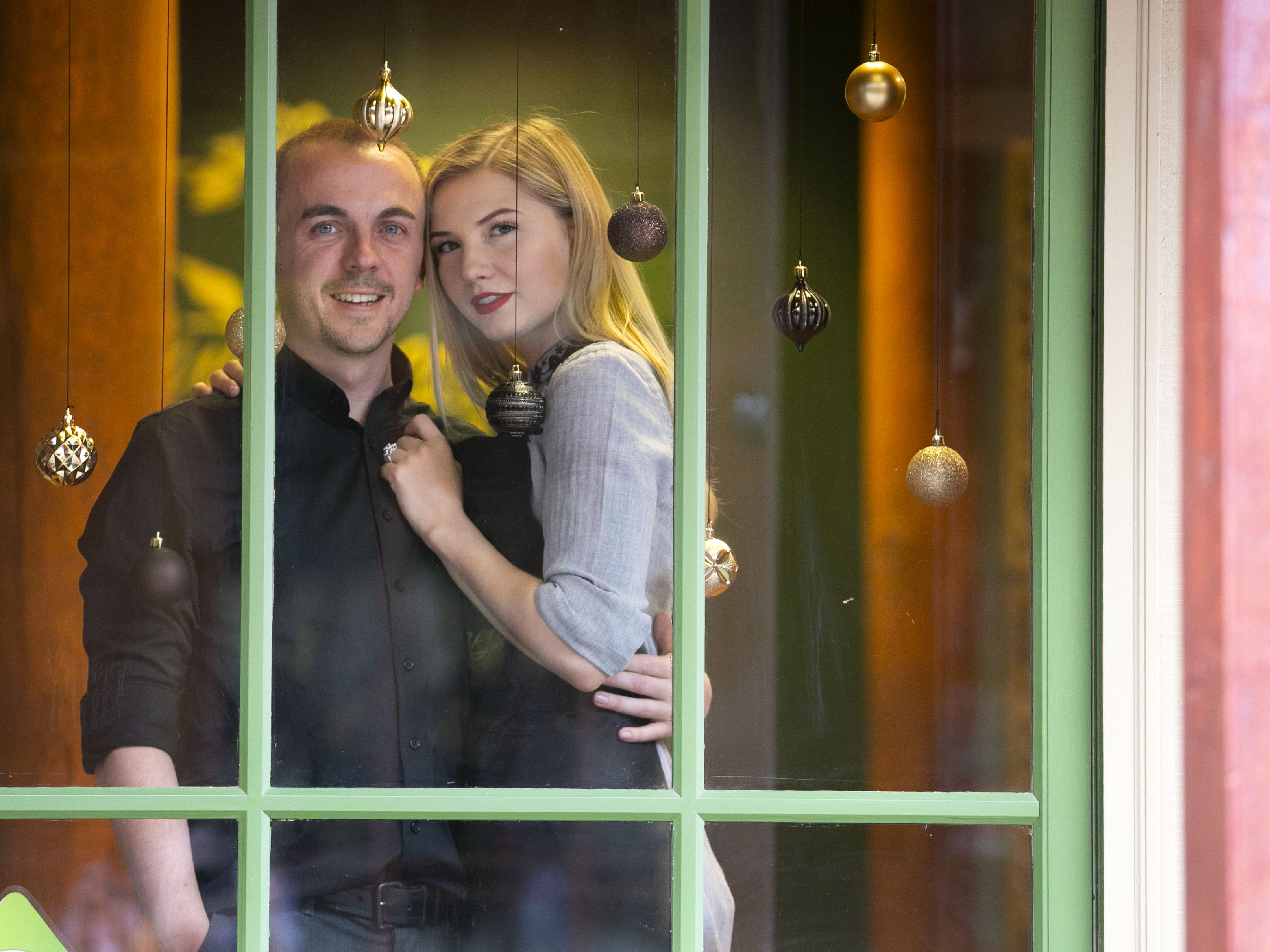 Child actor Frankie Muniz and his fiance Paige Price own and run Outrageous Olive Oils & Vinegars in Old Town Scottsdale on Tuesday, Dec. 11, 2018.