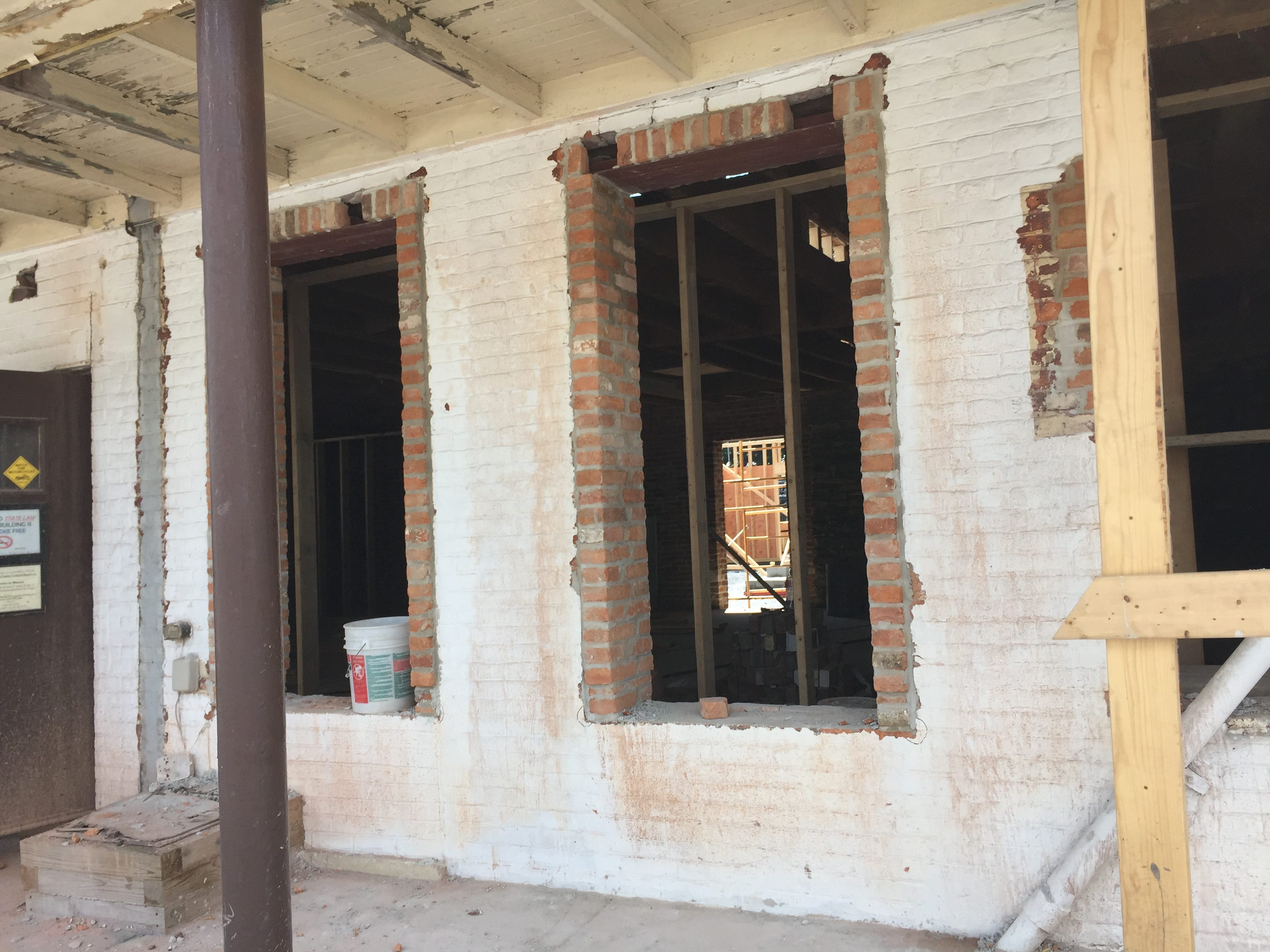 Rising Sun Kitchen & Bar was completely gutted and restored during an arduous two-year process.