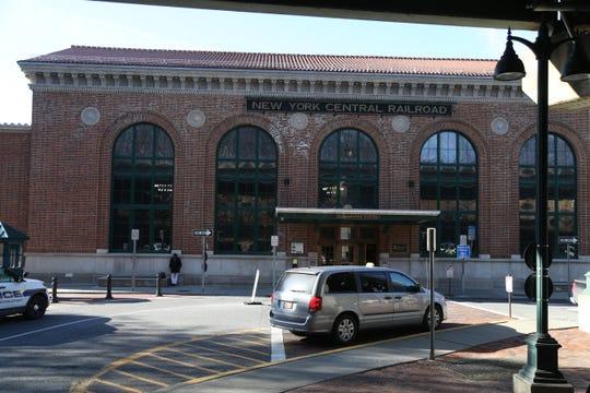 The Poughkeepsie Train Station on December 19, 2018.
