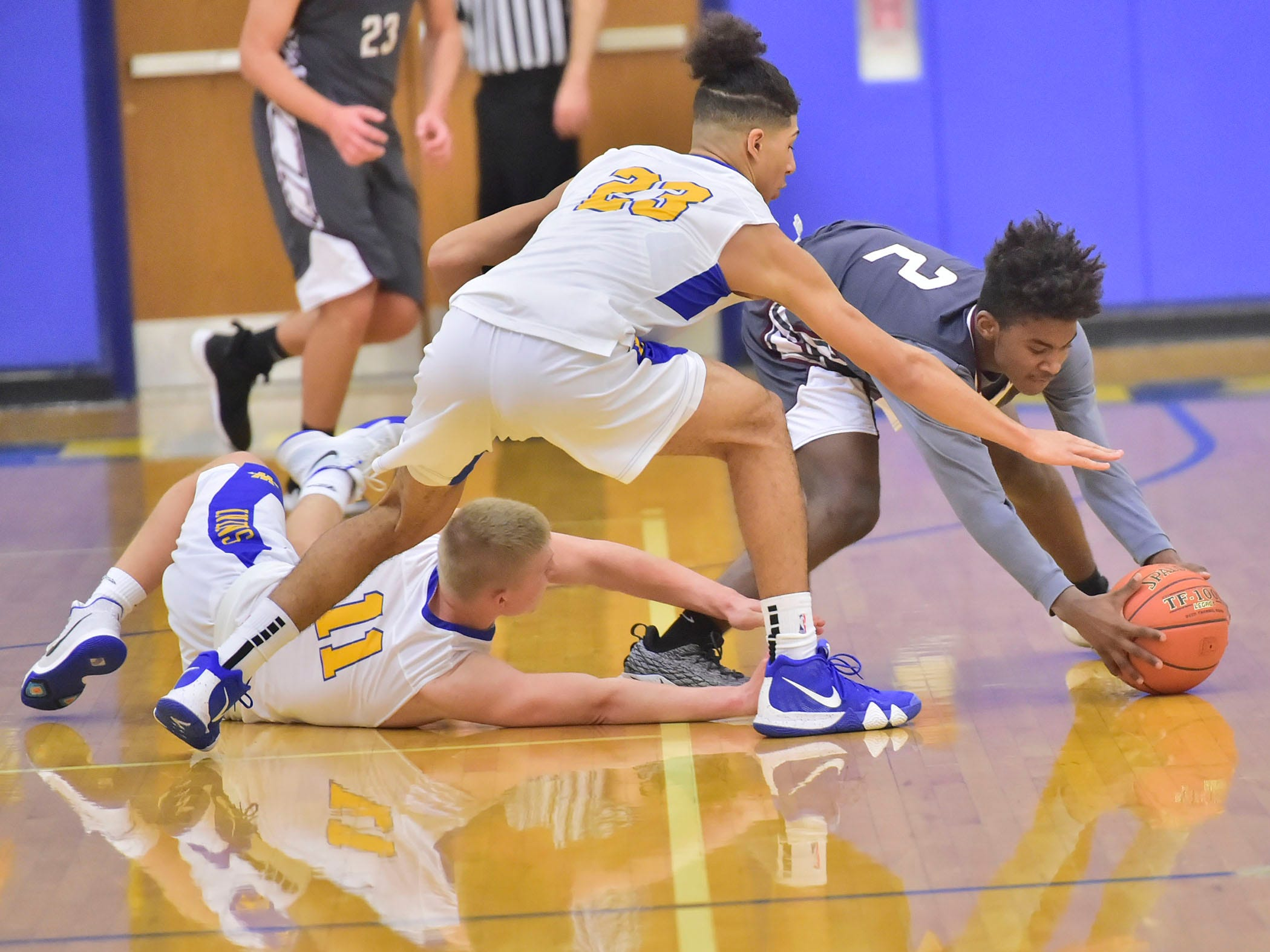 Waynesboro defeated Shippensburg 72-59 during a home game.