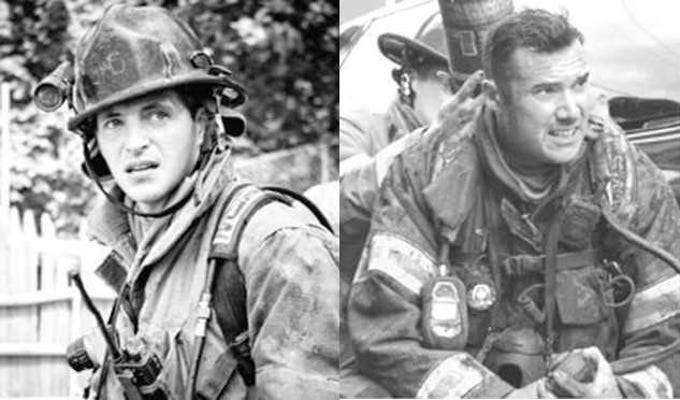York City firefighters Ivan Flanscha, 50, of Red Lion, left, and Zachary Anthony, 29, of York, died in a structure collapse March 22, 2018, one day after a fire nearly destroyed the building.