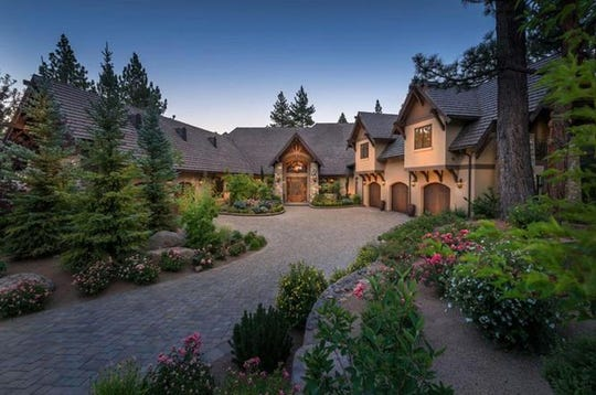 According to Redfin, this home at 5640 Foret Circle in Montreûx, was the most expensive home sold in Reno in 2018, at $4.9 million.
