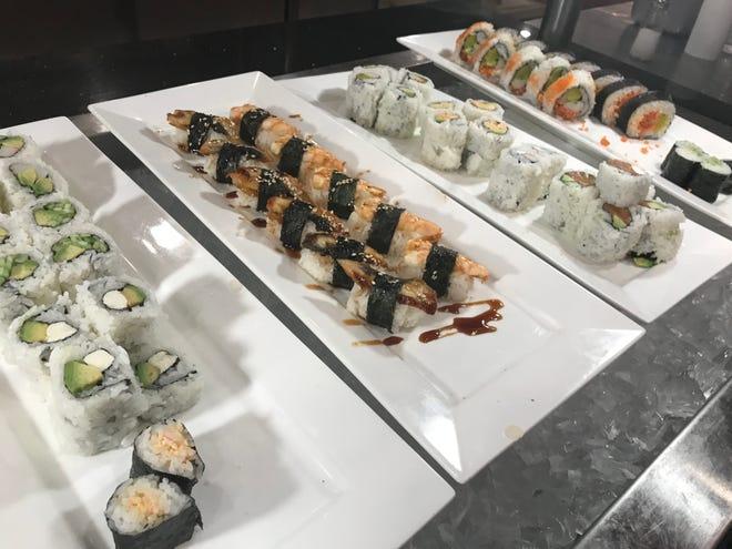 Sushi at China Buffet