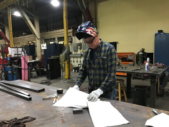 Frank Vazquez is a welder and millwright at Sierra Pacific Industries in Anderson. He learned the exacting and in-demand skills needed for the job in a program at Shasta College.