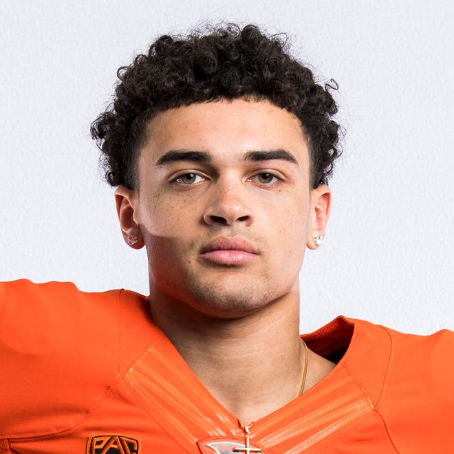 Oregon State bound wide receiver Anthony Gould from West Salem High School.