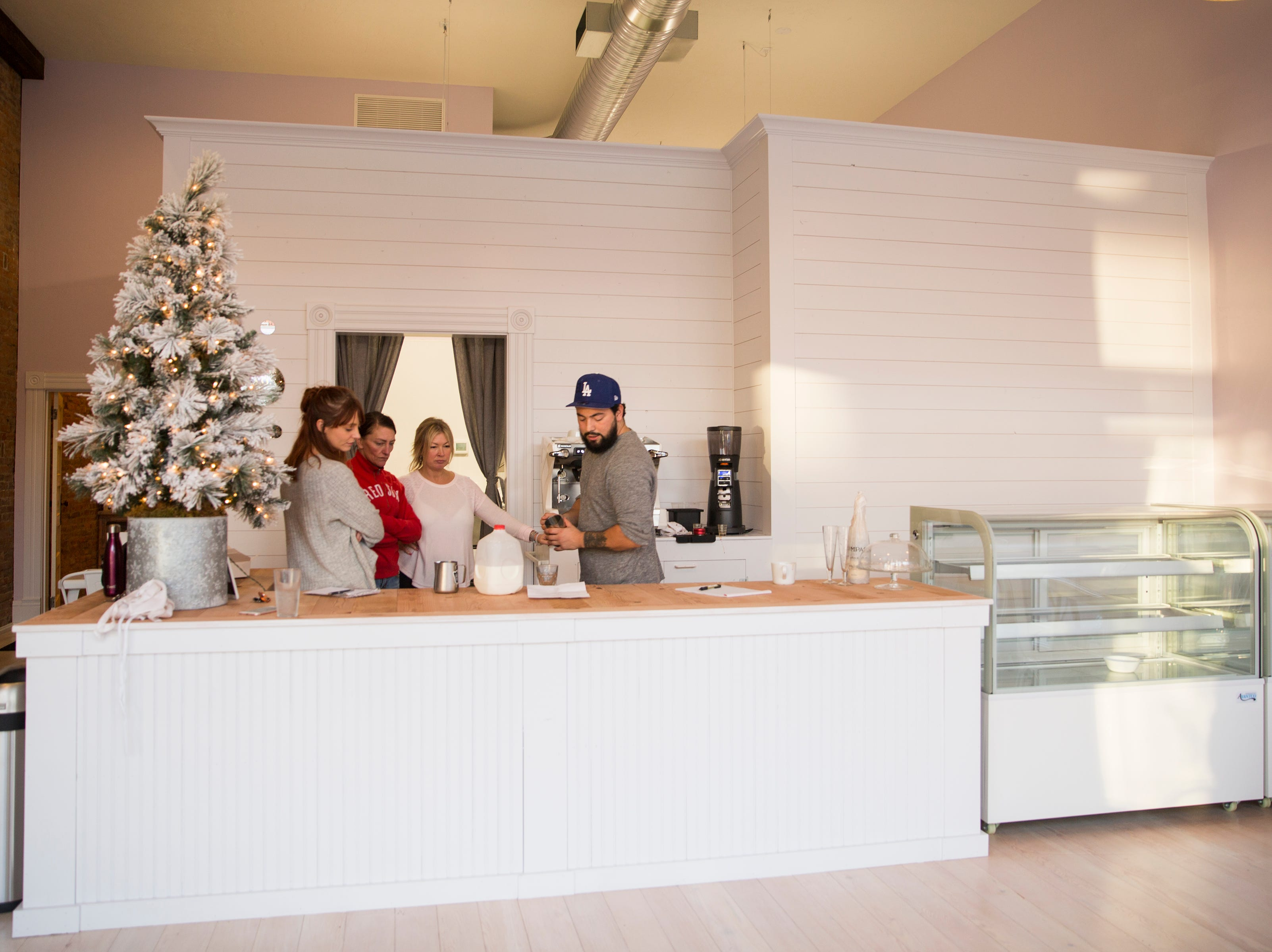 Jubilee Champagne & Dessert Bar in Independence on Tuesday, Dec. 19, 2018. The bar will serve a variety of coffee drinks, Champagne and beer along with pastries.
