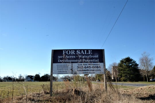 The Groome property, a 135-acre property on New Road, was approved Thursday by the planning and zoning commission to become a nearly 300-home development.