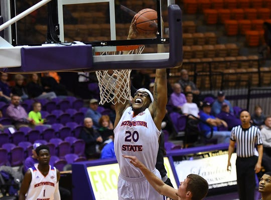 Ishmael Lane and the Northwestern State Demons scored a road win Saturday.