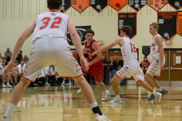 Lincoln's Jared Jaros could return as early as Friday after injuring his knee on Dec. 21 at Roosevelt.