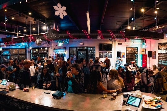 Tie & Timber Beer Co. opened in April 2018 and has become a lively place for craft beers, live music and neighborhood socializing.