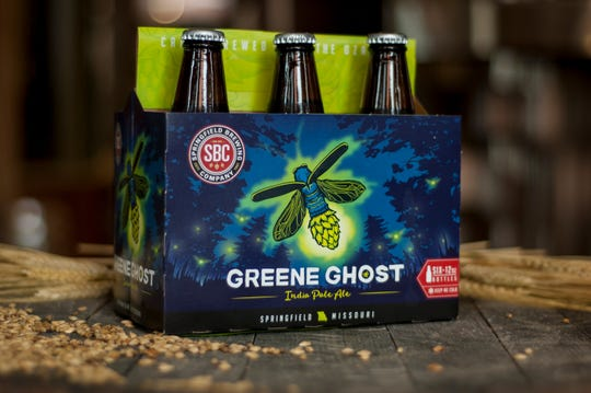 Greene Ghost IPA is a flagship beer for Springfield's original brew pub, Springfield Brewing Company.