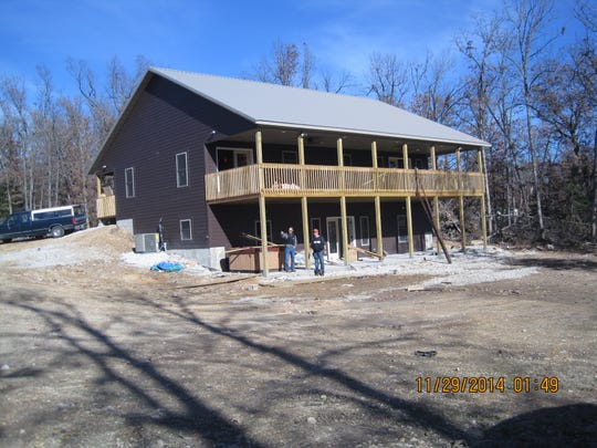 The Polk County home built by Kenna Harmon.