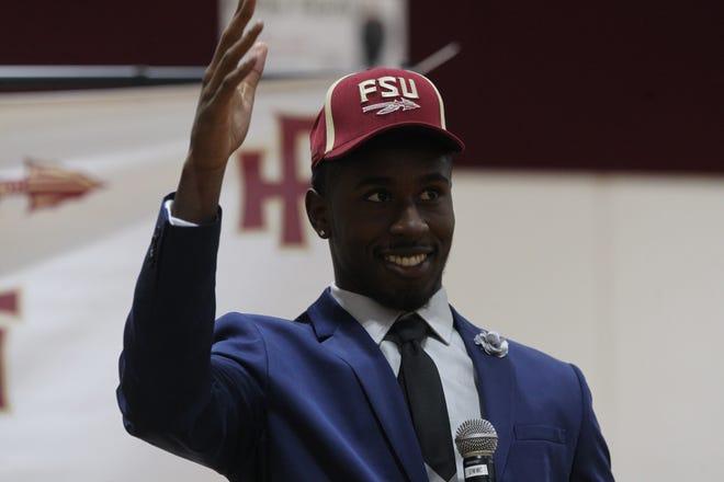 Florida High senior defensive back Raymond Woodie III signed Wednesday to play at FSU.