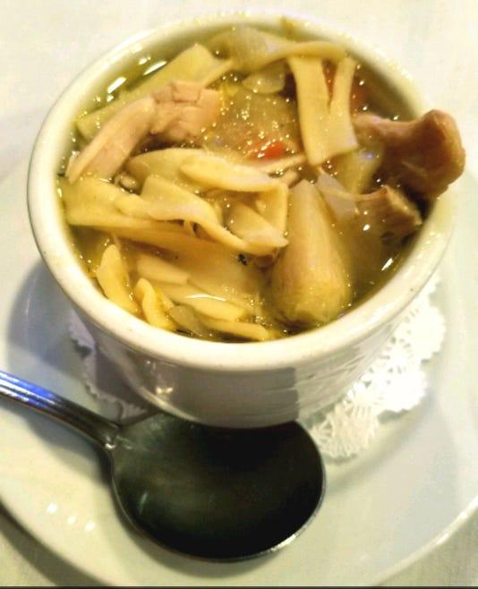 Adj Talk Chicken Soup