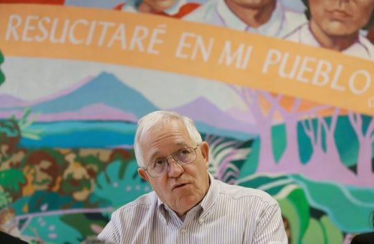 Annunciation House Executive Director Ruben Garcia