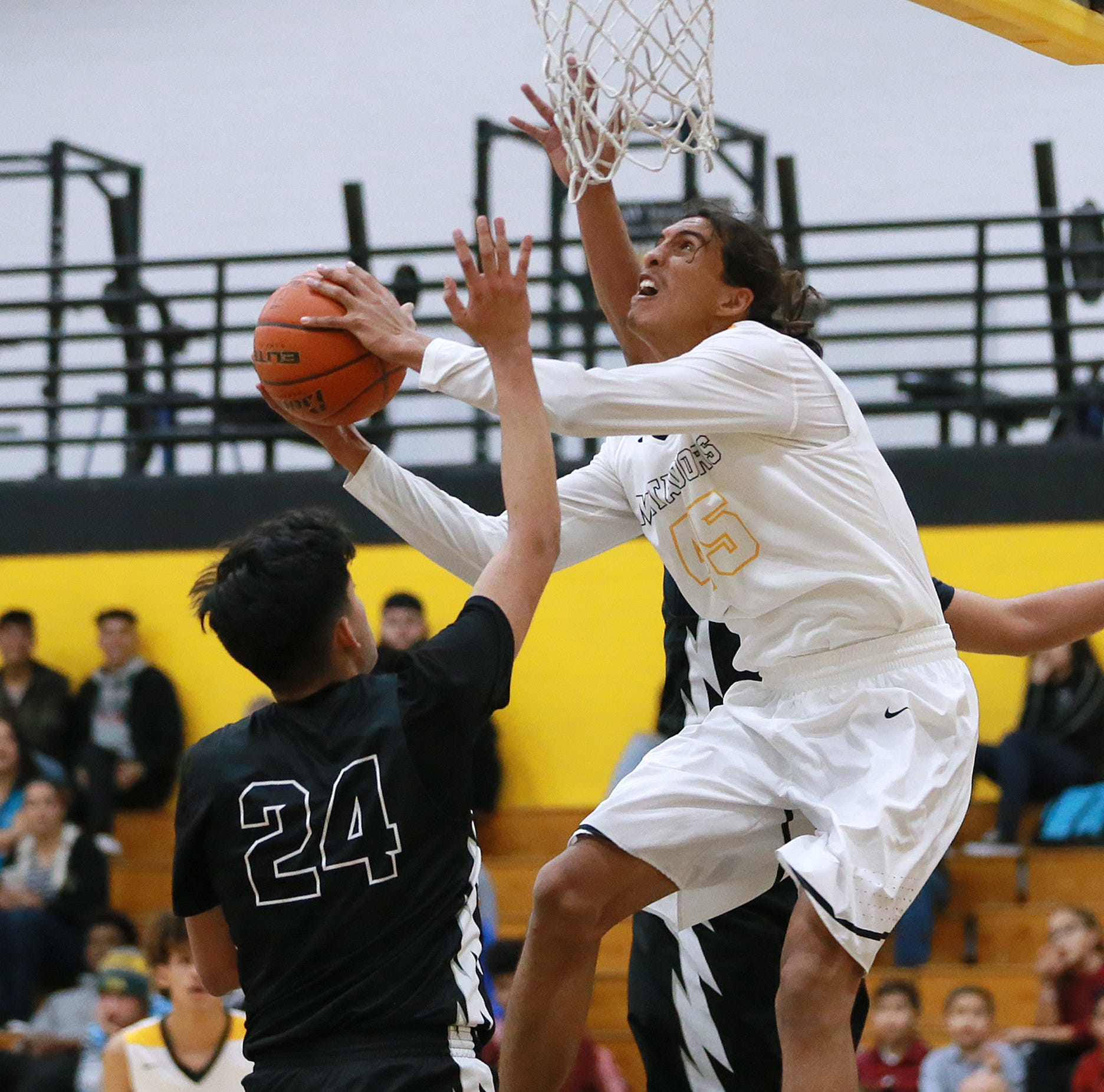 El Paso high school basketball: Results for Tuesday, Dec. 18
