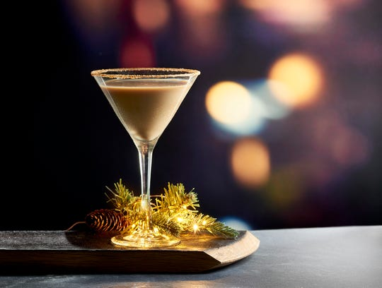 The Holiday Cheer cocktail is a seasonal item at Mastro's Steakhouse in Thousand Oaks. The restaurant will be open on Christmas Day.