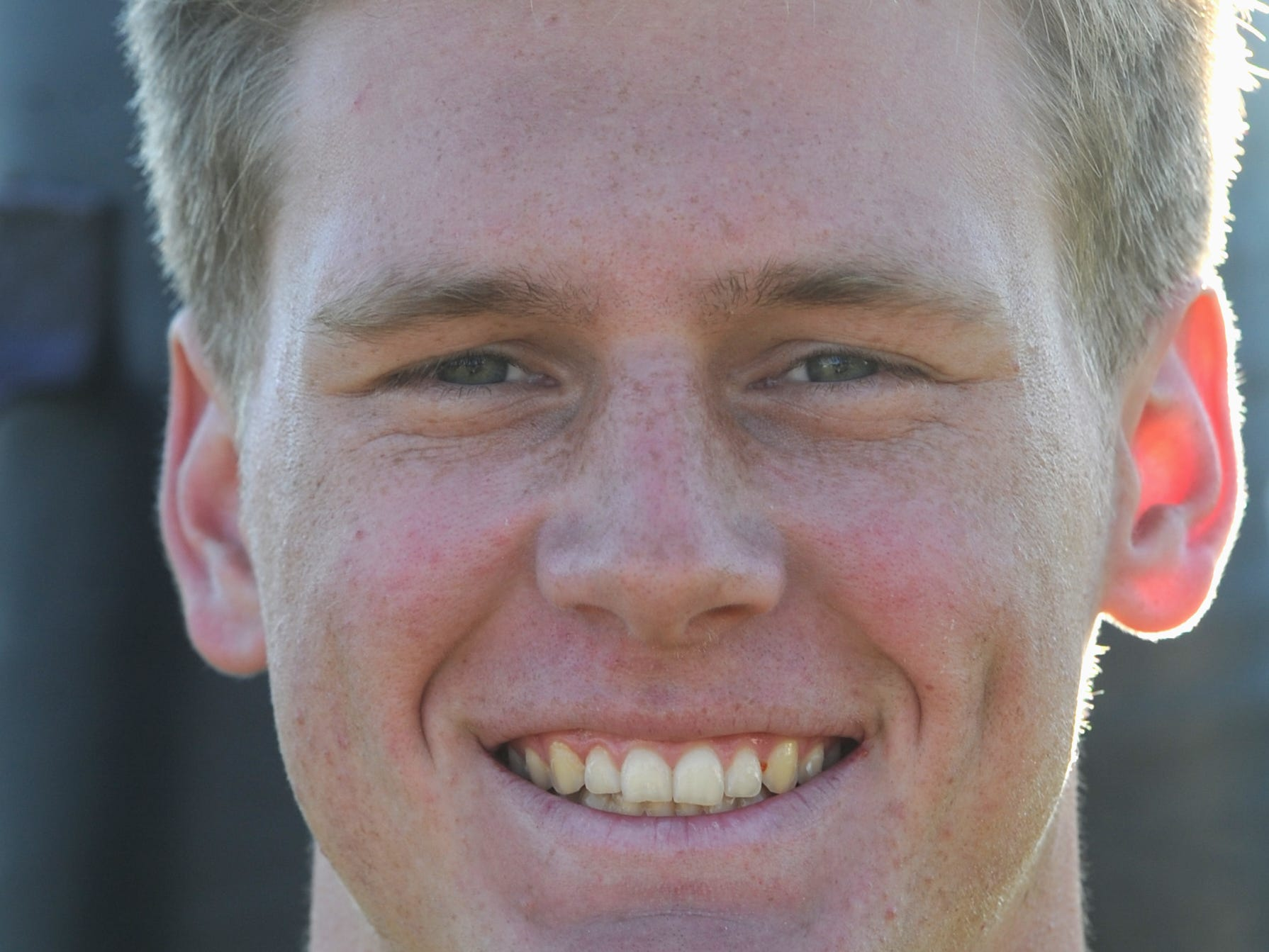 """DREW CARTER, Camarillo, Linebacker: The 6-foot-1, 190-pound senior captain led the Scorpions to an 11-win season. Quick and instinctive, the Camino League co-Linebacker of the Year amassed 115 tackles for the second straight year, including 15 apiece against Bishop Diego and Grace Brethren. He also had two sacks, a pair of interception returns for touchdowns, a blocked punt and a blocked field goal. He had 27.5 tackles for a loss in his three-year varsity career. His hobbies include surfing, fishing, skiing and camping. He enjoys watching """"The Office"""" and eating pizza. Luke Kuechly is his favorite athlete. He roots for the Denver Broncos."""