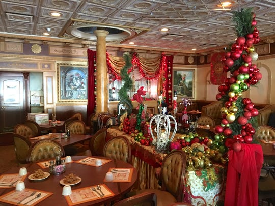 Famous for dining-room displays that change with the seasons, Chester's Asia Chinese Restaurant in Camarillo was in mid-holiday-decor mode this week. The 55-year-old restaurant will be open on Christmas Day.