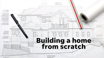 Rory Tishelman, an agent with Houlihan Lawrence's Irvington office, tells us what people should know when building a home from scratch, Dec. 17, 2018, in Irvington.