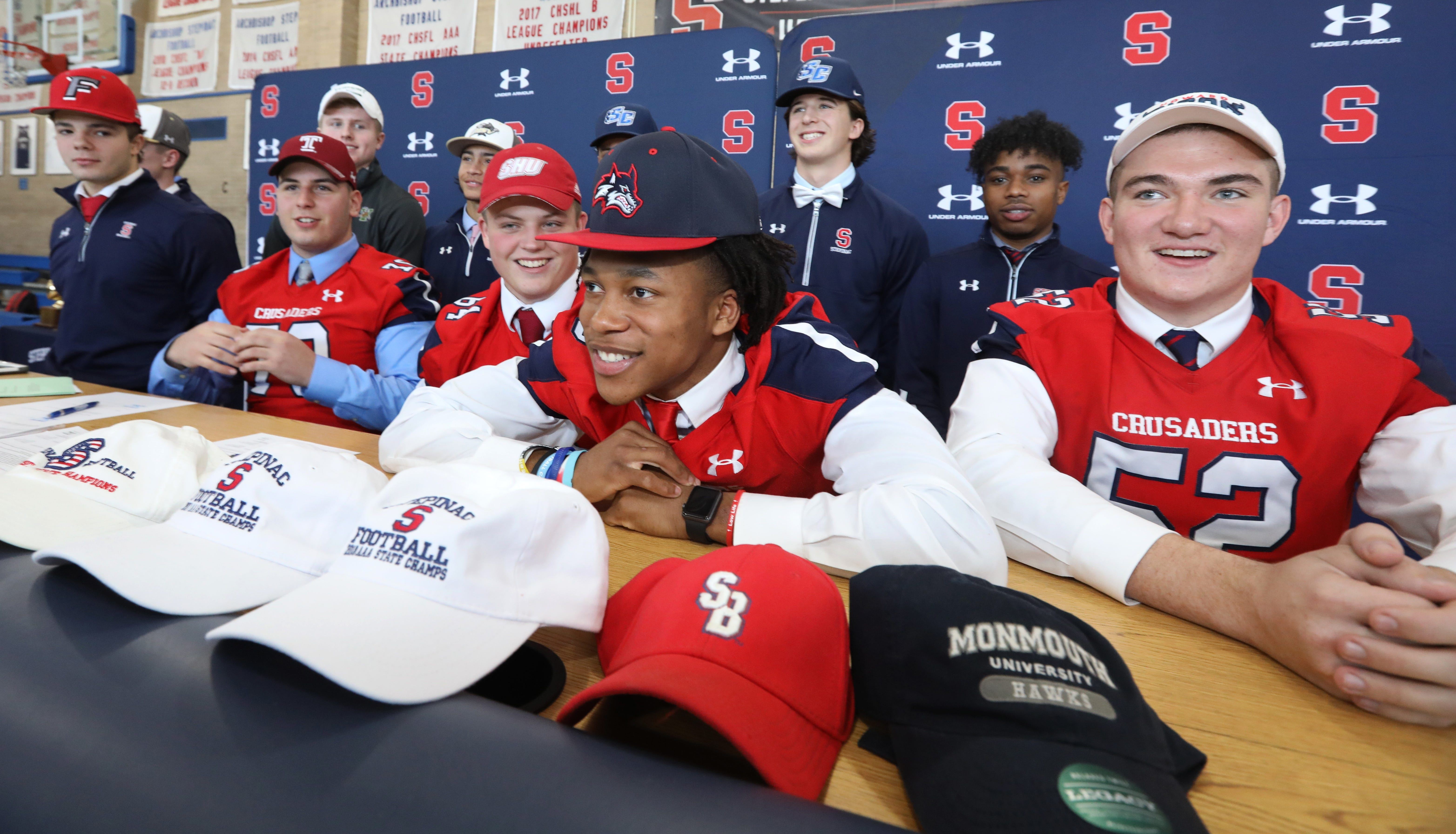 Video: Stepinac signing day