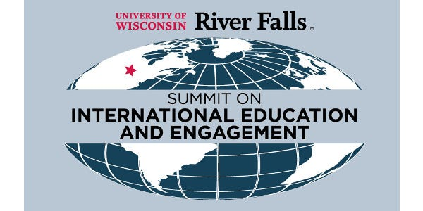 Activity proposals are being sought from the public and campus for a first-ever Summit on International Education and Engagement to be held at the University of Wisconsin-River Falls and in the community Nov. 18-22, 2019.