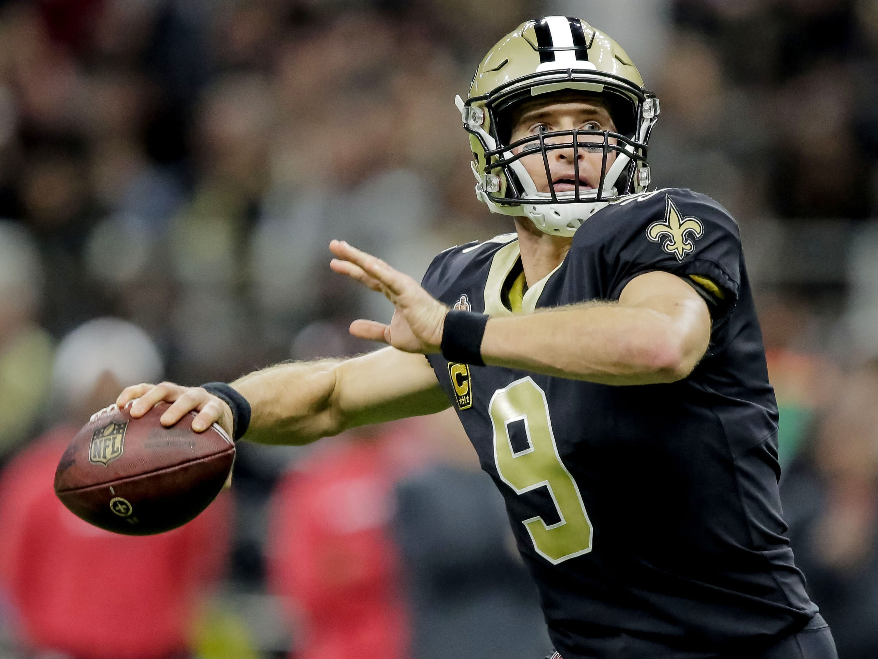 QB - Drew Brees, New Orleans Saints