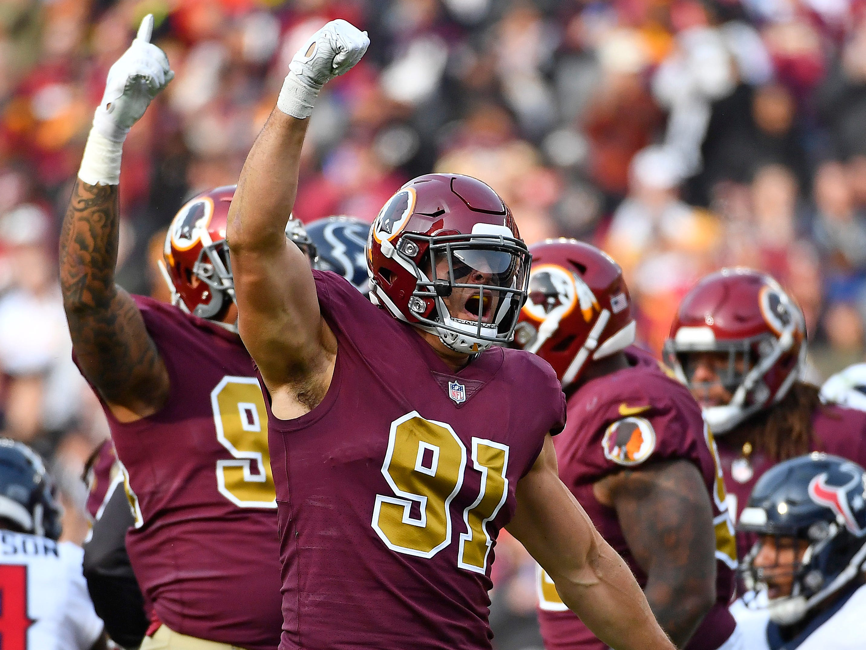 OLB - Ryan Kerrigan, Washington Redskins