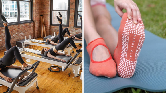 Best way to get in shape for 2019: Barre Socks