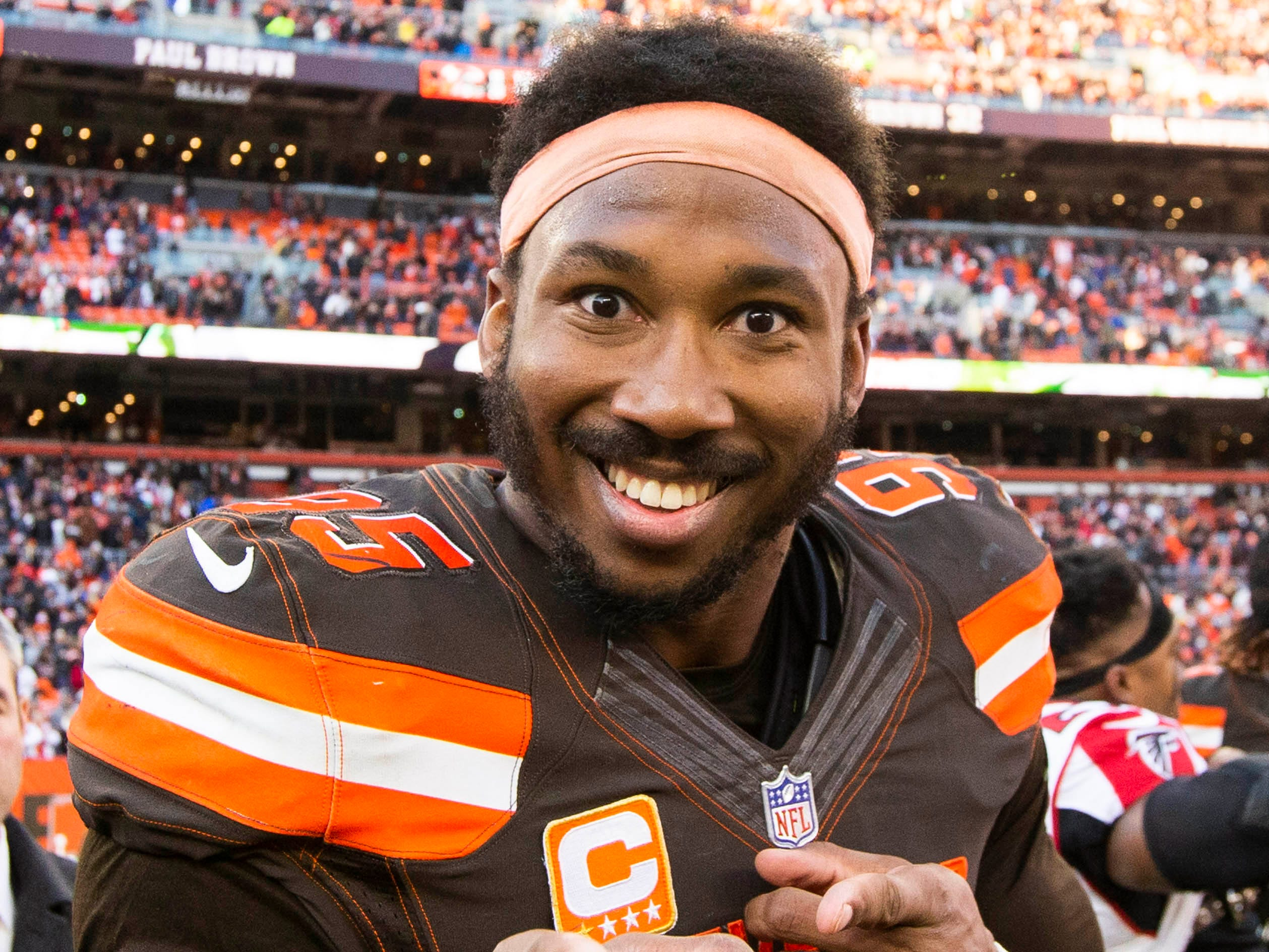 DE - Myles Garrett, Cleveland Browns