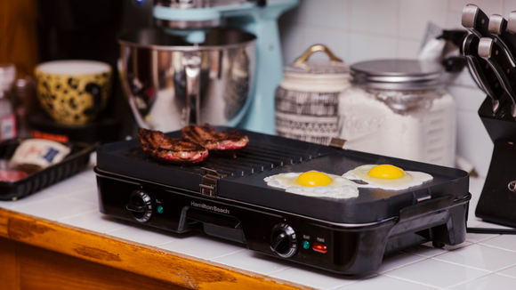 The Hamilton Beach electric griddle