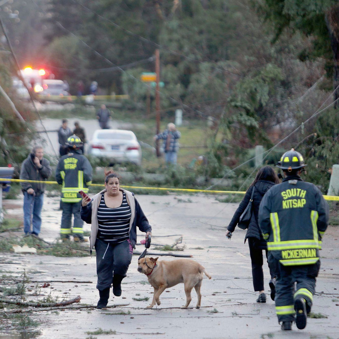 Rare tornado touches down in Seattle suburb, damaging several homes