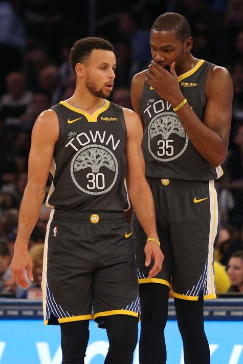 1201e3d6950 Usp Nba Golden State Warriors At New York Knicks S Bkn Nyk Gsw Usa Ny.  Stephen Curry and Kevin Durant ...