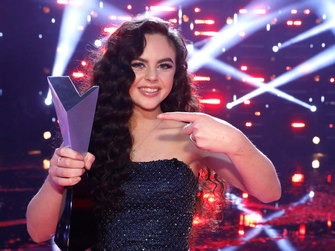 """THE VOICE -- """"Live Finale Results"""" Episode 1519B -- Pictured: Chevel Shepherd -- (Photo by: Trae Patton/NBC)"""