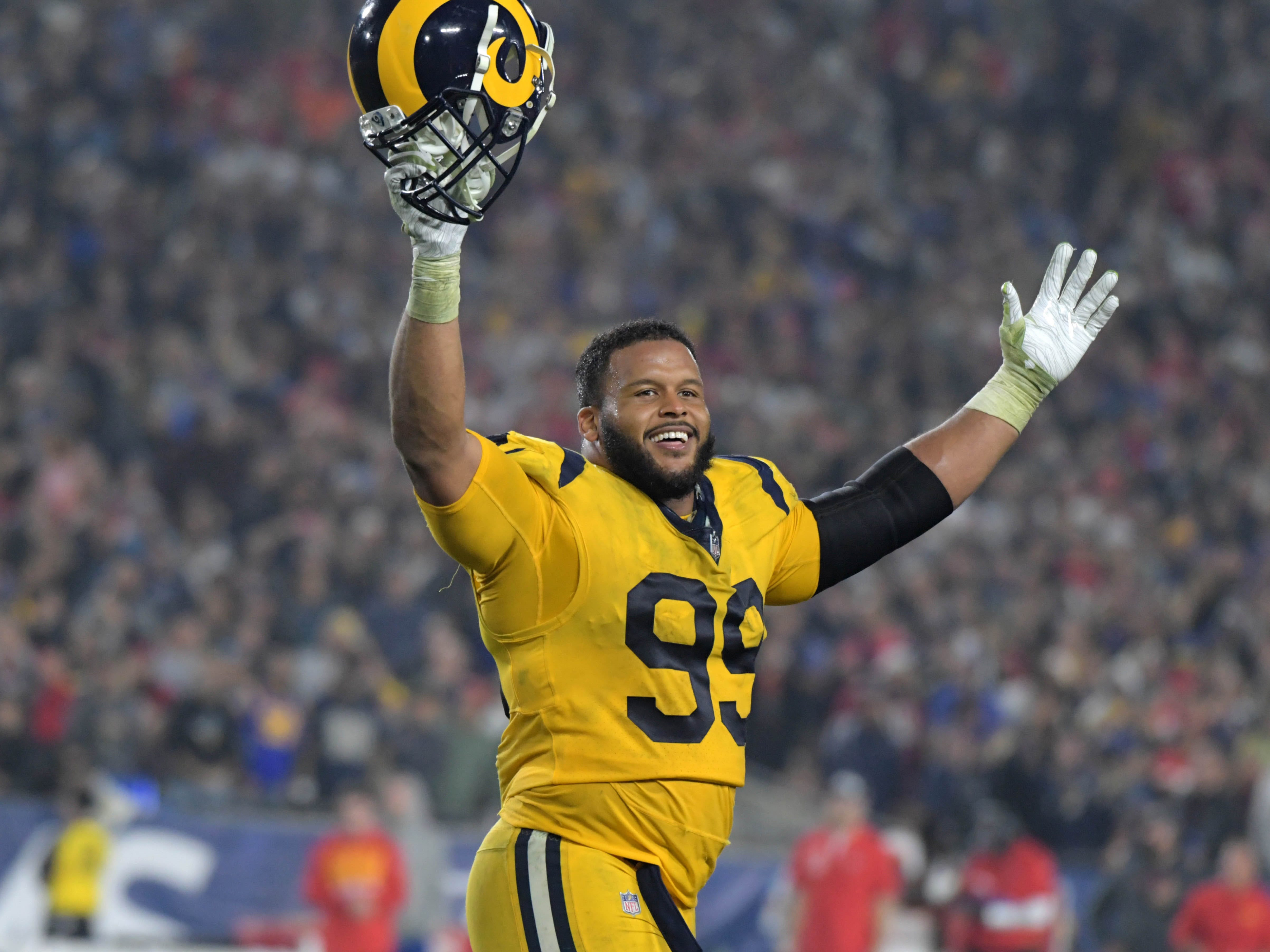 DT - Aaron Donald, Los Angeles Rams