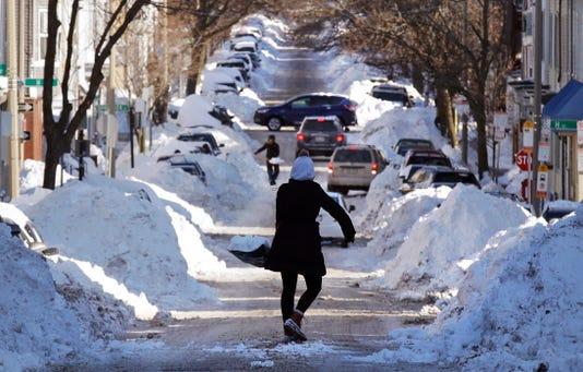 Ap Aptopix Winter Weather Boston A Wea Usa Ma