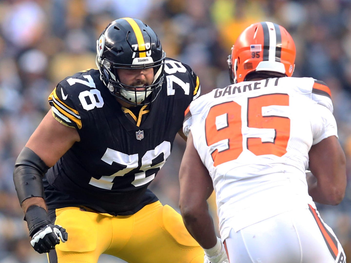 OT - Alejandro Villanueva, Pittsburgh Steelers