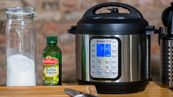 This is the best Instant Pot, and it's got WiFi so you can keep an eye on things from your phone.