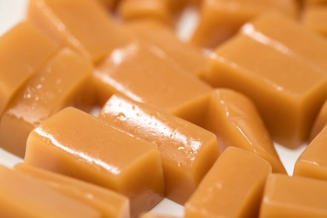 Vanilla salted caramels are a treat to make and give away.