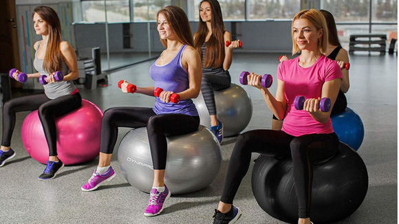 Best way to get in shape for 2019: Exercise Ball