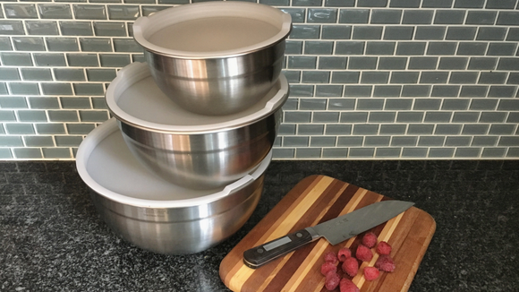 The Cuisinart Stainless Steel Mixing Bowls