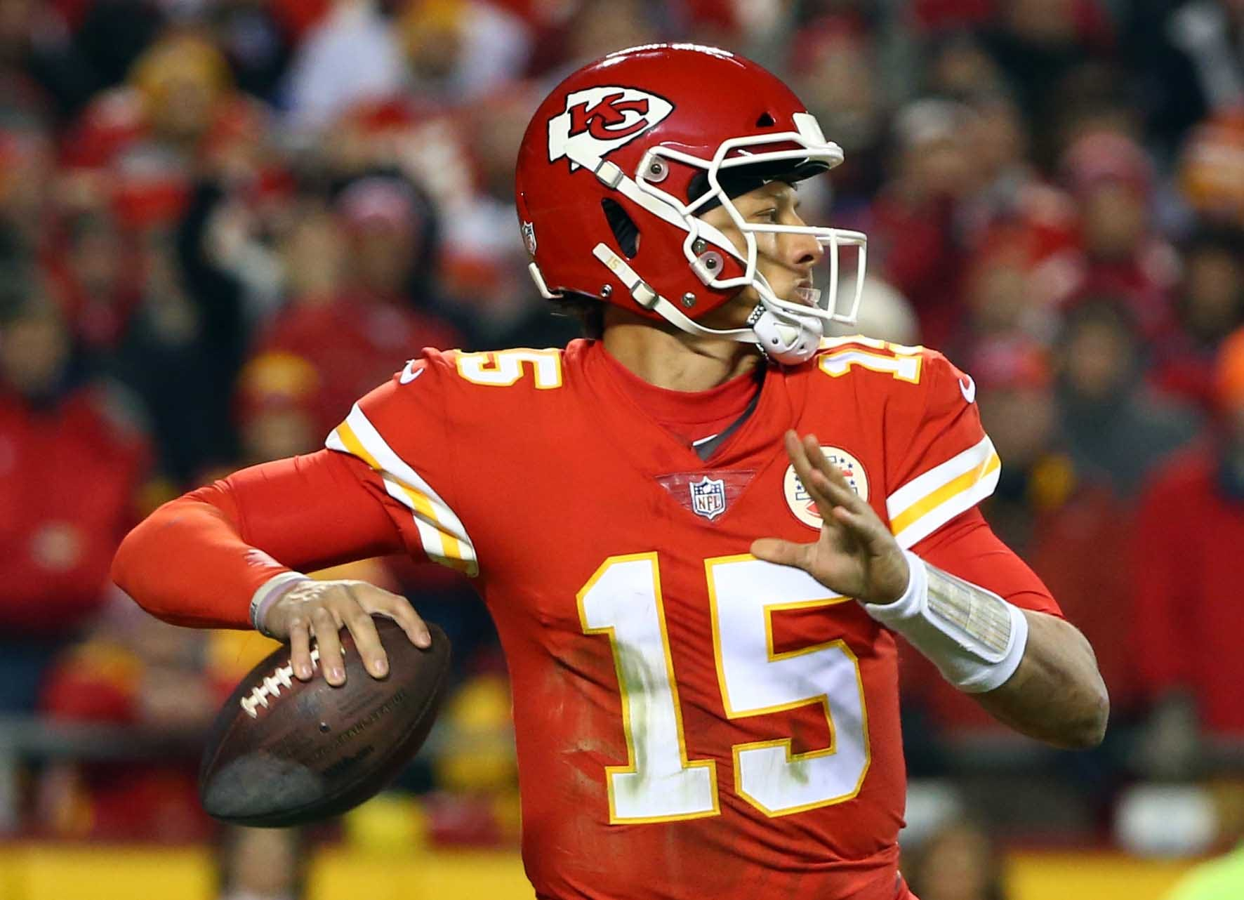 QB - Patrick Mahomes, Kansas City Chiefs