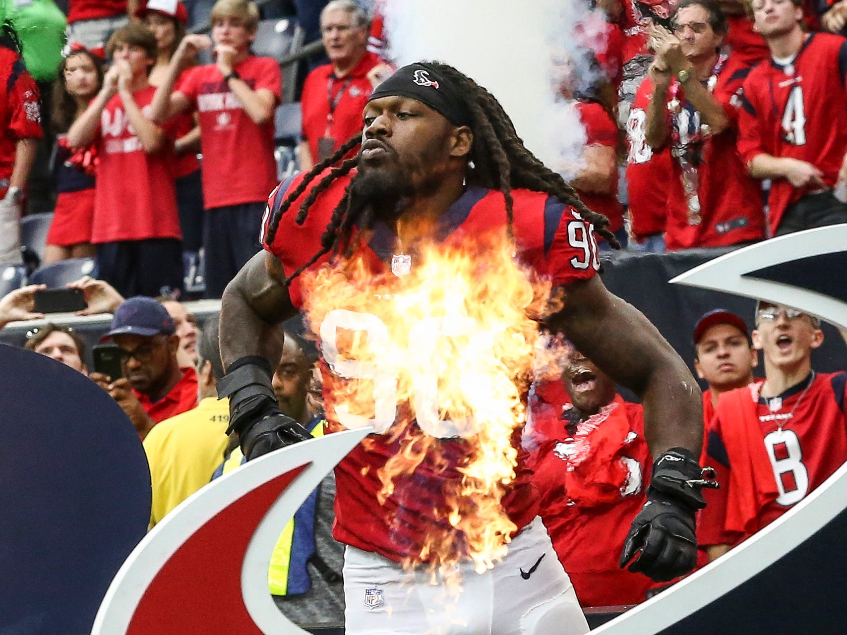 OLB - Jadeveon Clowney, Houston Texans